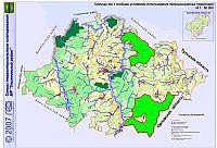 Границы зон с особыми условиями использования природоохранных территорий